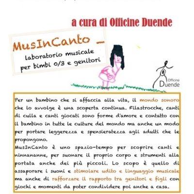 MUSINCANTO 0-3 ANNI